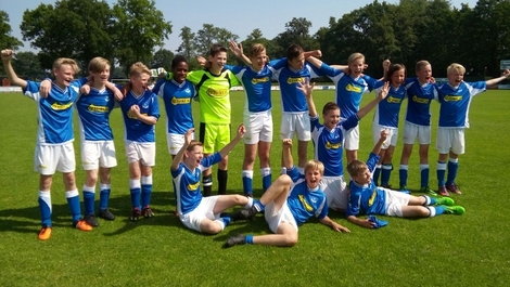 wvf voetbal westenholte WVF JO13-5